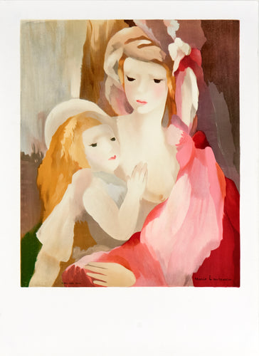 mother and daughter by Marie Laurencin 1980