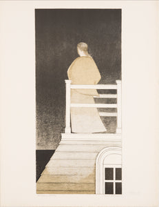 Widow's Walk by Will Barnet 1970