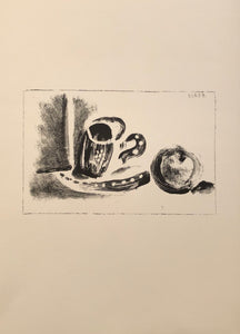 The Cup and the Apple by Pablo Picasso