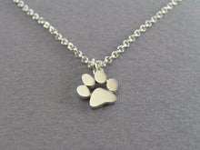 Cute Animal Paw Print Pedant Necklace
