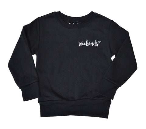 Weekends Sweatshirt - Adults