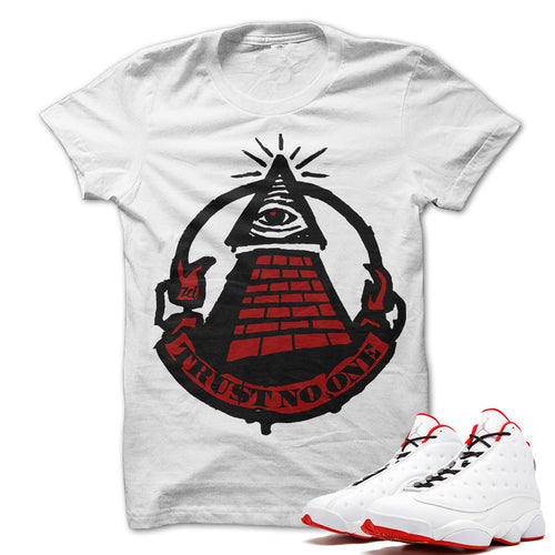 Trust No One Tee (Air Jordan 13 History Of Flight)
