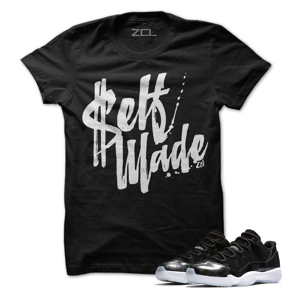 Self Made Tee (Air Jordan 11 Low Barons)
