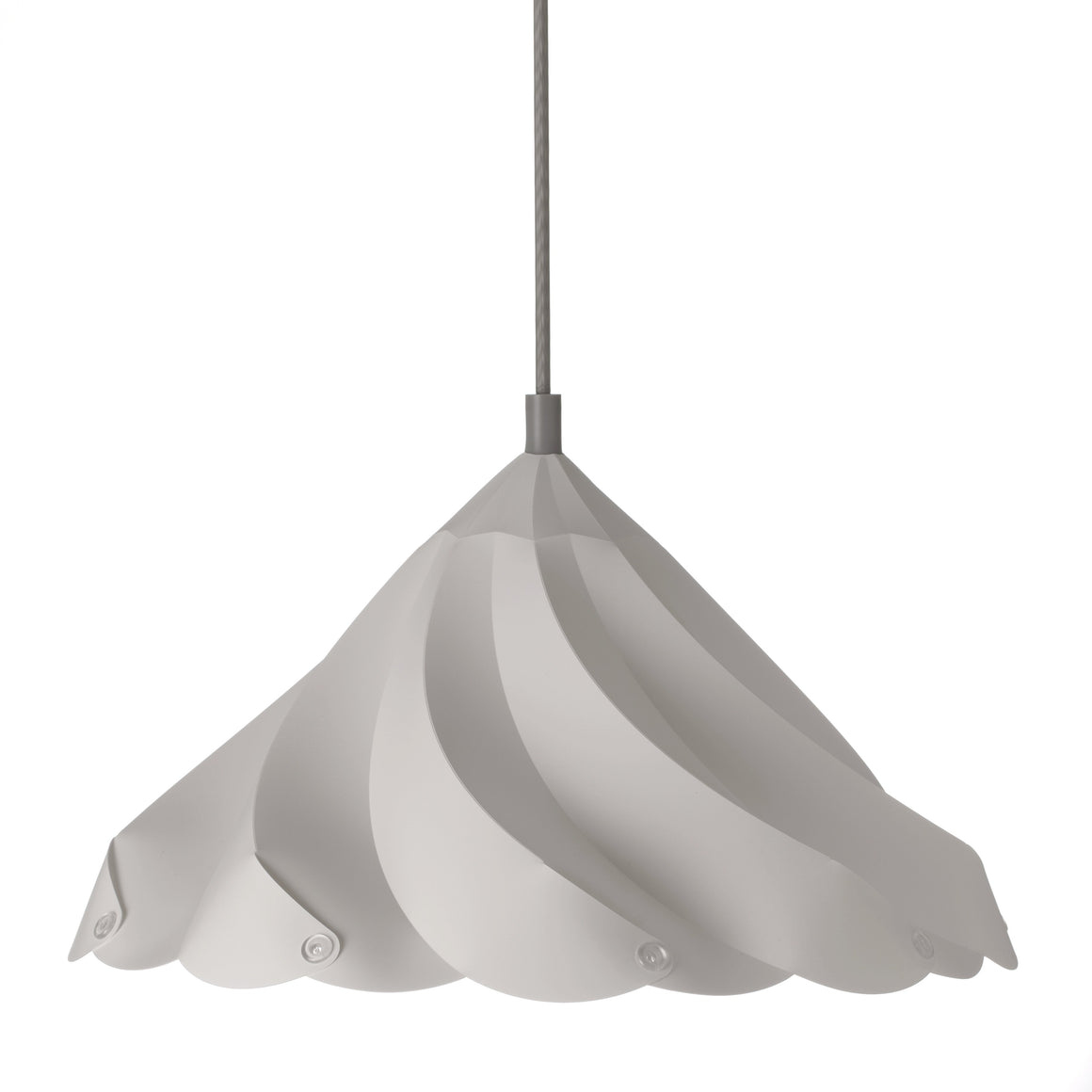 Meringue Kiss Lamp Gray lighting ShapeMixer