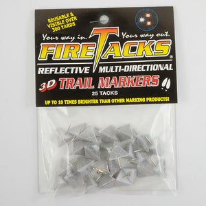 Diamond Bright 3D fire tacks in package
