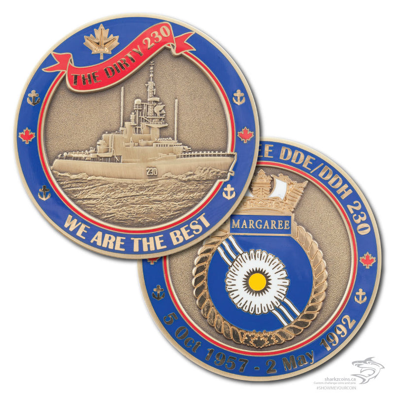 HMCS Margaree Badge patch