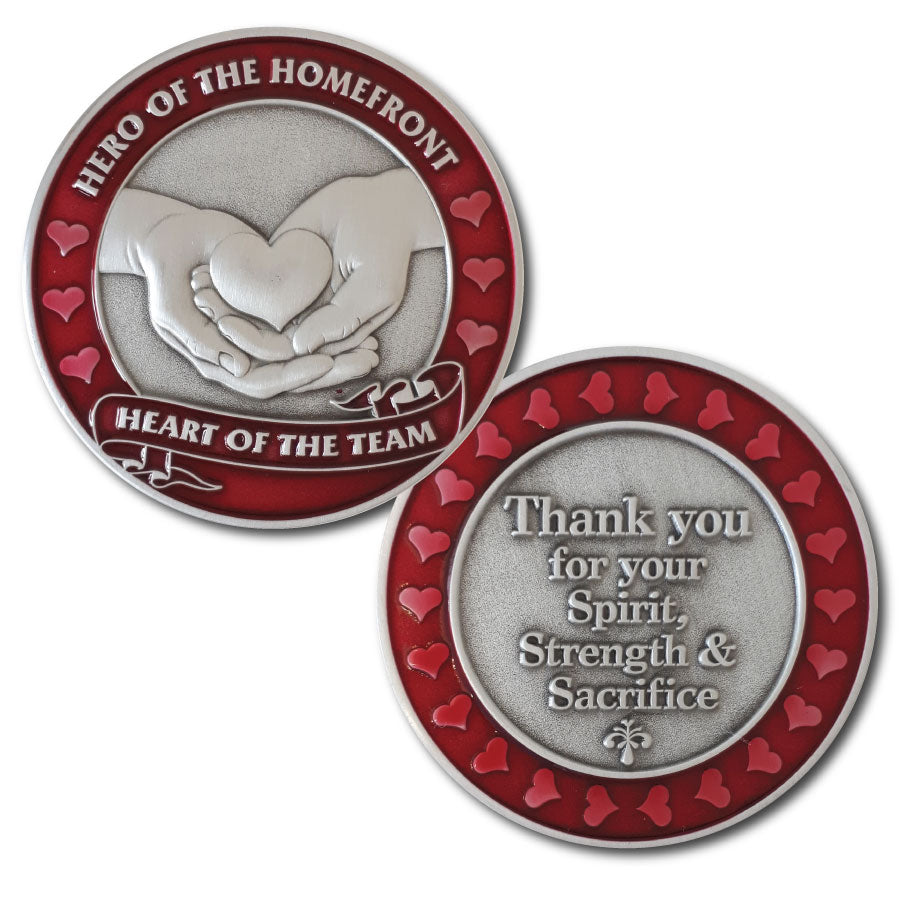 Hero of the Homefront Coin