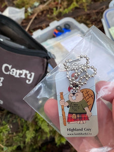 Highland Guy Trackable Tag