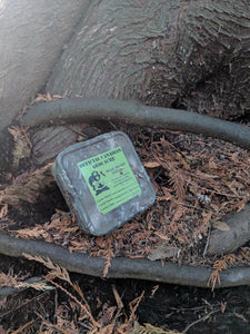 Medium Square Camouflaged Cache Container