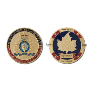 RCMP Generational Challenge Coin