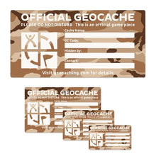 Desert print Official Geocache stickers