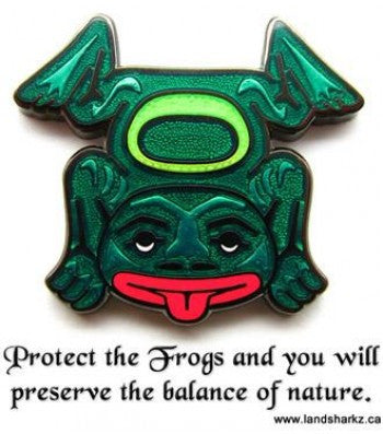 West Coast Eco-Totem Pins