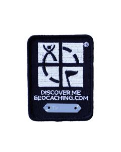 Geocaching Trackable Patch- Black