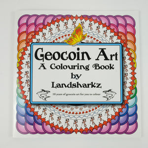 Geocoin Art - A Colouring Book by Landsharkz
