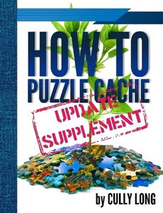 Front cover of the How to Puzzle Cache Update Supplement book