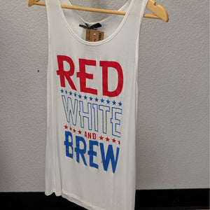 Graphic Tee - Red White And Brew