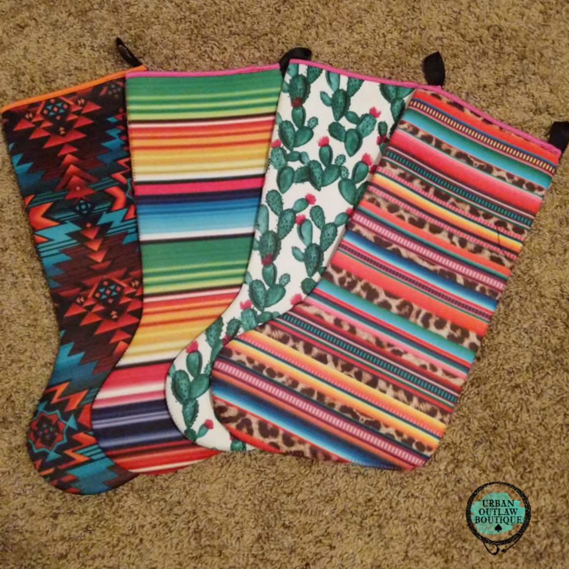Christmas Stockings - Urban Outlaw Boutique