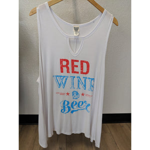 Red Wine and Beer - Urban Outlaw Boutique