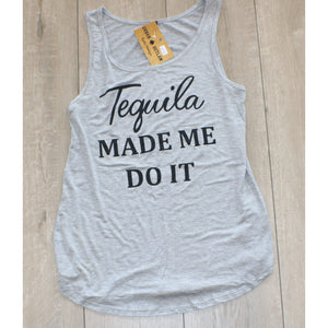 Tequila Graphic Tank - Urban Outlaw Boutique