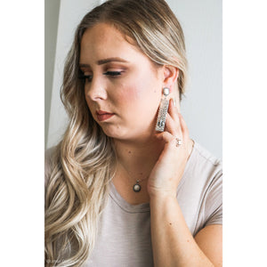 Silver Cactus Earring - Urban Outlaw Boutique