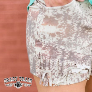 Howdy Hide Fringe shorts - Urban Outlaw Boutique