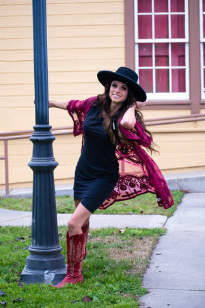 Not Your Average T-shirt Dress (black) - Urban Outlaw Boutique