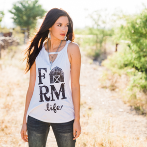 Farm Life Is For Me T-shirt - Urban Outlaw Boutique