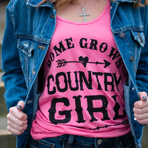 Homegrown Country Girl Tank - Urban Outlaw Boutique