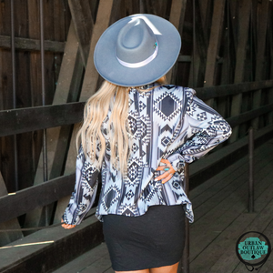 Woman In Charge Blazer - Urban Outlaw Boutique