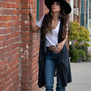 Hidden Gem Lace Vest - Urban Outlaw Boutique