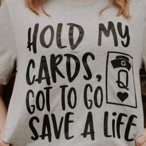 Hold My Cards Graphic T-shirt - Urban Outlaw Boutique
