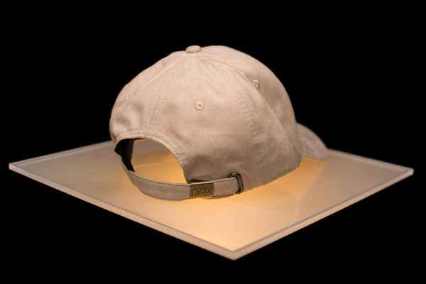 Suede Ball Cap - Sand