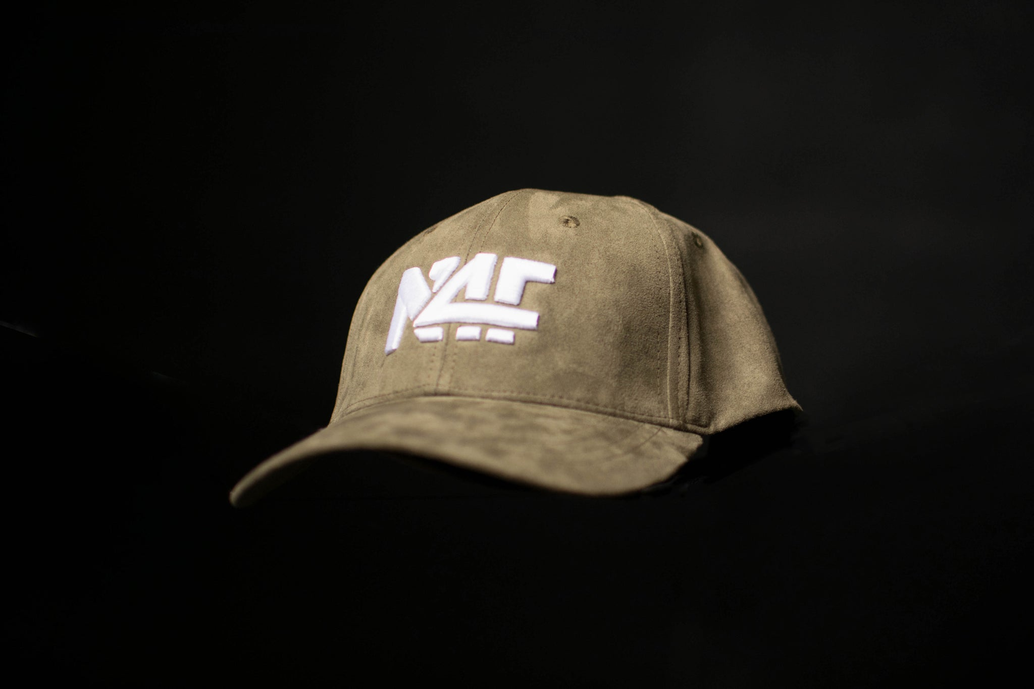 Suede Ball Cap - Olive