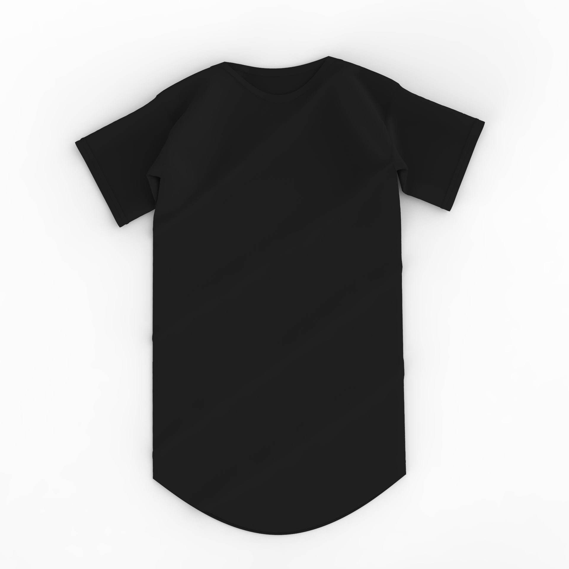 Essential Scoop Tee - Black