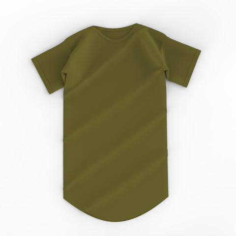 Essential Scoop Tee - Olive