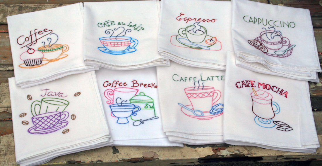 How To Embroidery On Flour Sack Dish Towels Best Tips And
