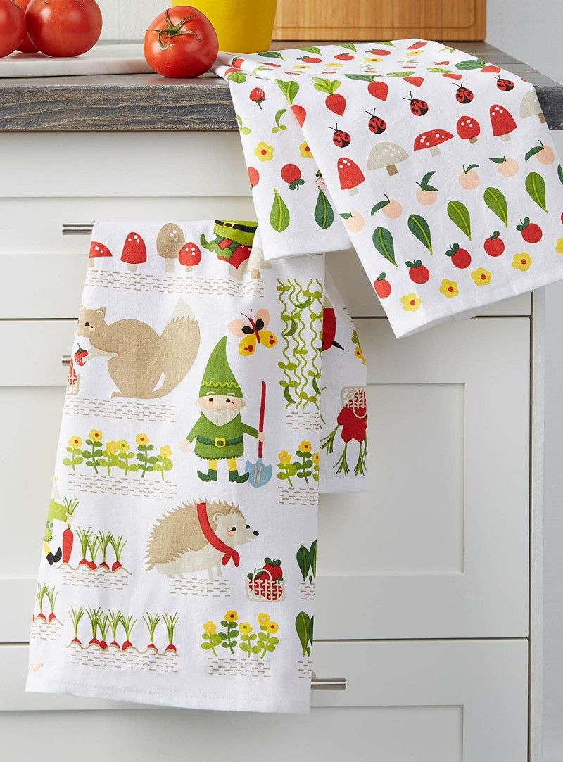 NOVEMBER 18, 2014 CHRISTMAS  diy flour sack towels