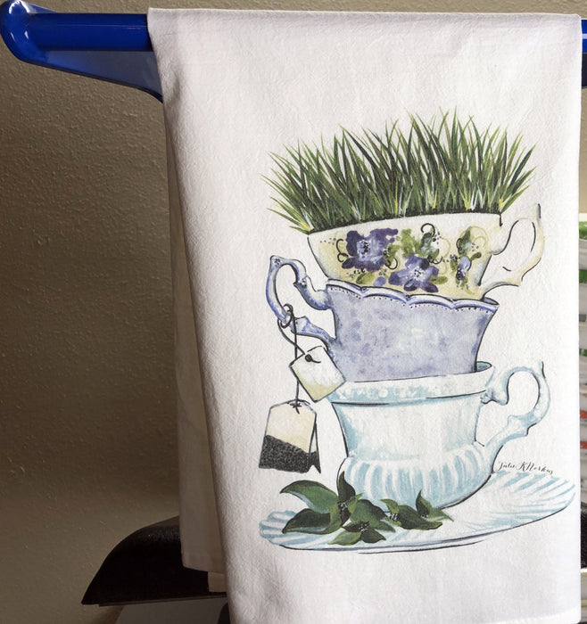 Custom Tea Towels, DTG Custom Printed Flour Sack Towels Wholesale, Printed Kitchen Towels