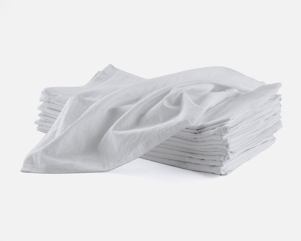 Flour Sack Towels, 27 x 27 Inches,  Set of 12, 100% Cotton, Highly Absorbent, Multi-Purpose Kitchen Dish Towels, Perfect for Printing & Embroidery
