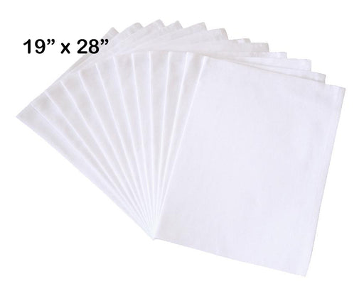 "Flour Sack Dish Towels, 19""x28"", 100% Cotton, Set of 12"