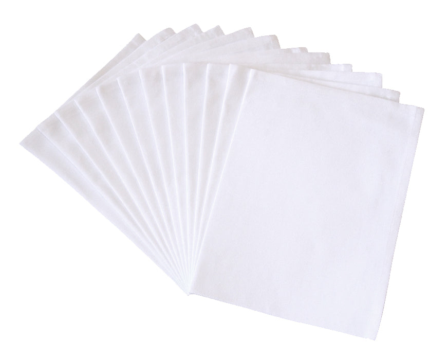 "Flour Sack Napkins, Cloth Napkins, 19""x19"", 100% Cotton, Set of 12"
