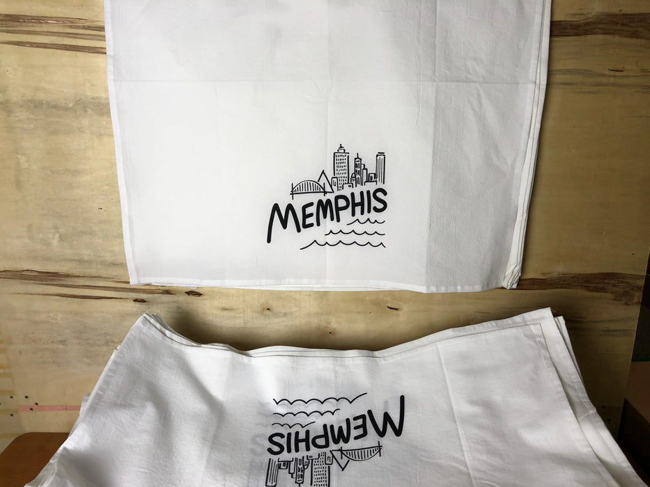 Tea Towel Printing, Screen Printed Flour Sack Towels Wholesale, Cheap Dish Towels Printing