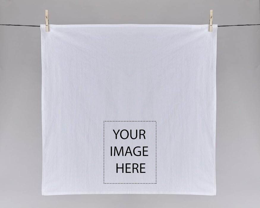Digital Printing Service (Direct to Garment Printing) - Put your artwork/logo/photo on tea towels