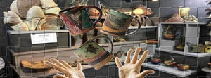 Helene Fielder Mugs in air - Unchained Art