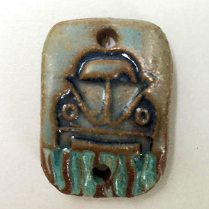 Bug Rectangle Shape Bracelet Focal Bead
