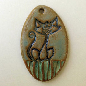 Cat Bead Oval