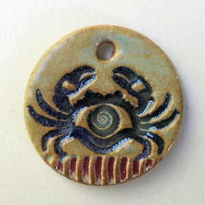 Crab Focal Bead Circle