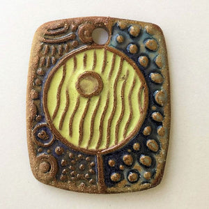 Abstract Focal Bead Rectangle