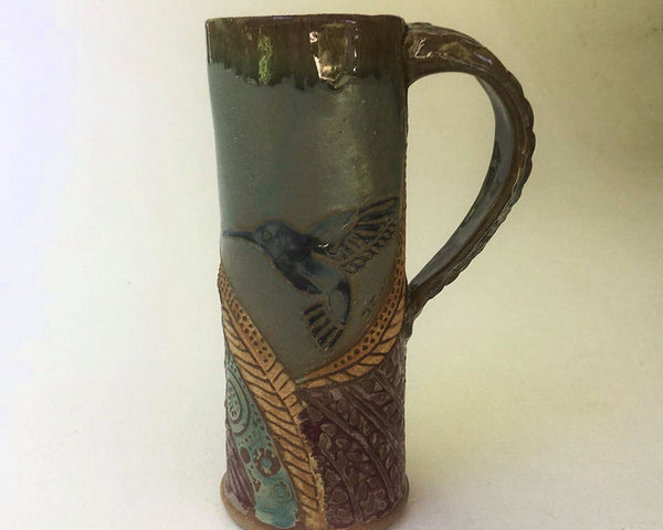 Hummingbird Console Travel Mug Coffee Mug Fits in Car Holder