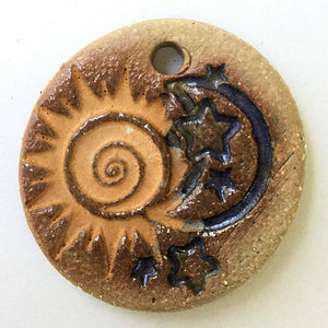 Sun & Moon Focal Bead Circle